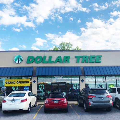 Dollar Tree Channel Letters