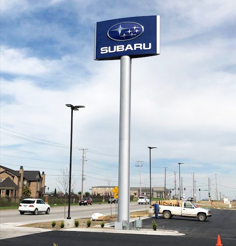 Subaru Pylon