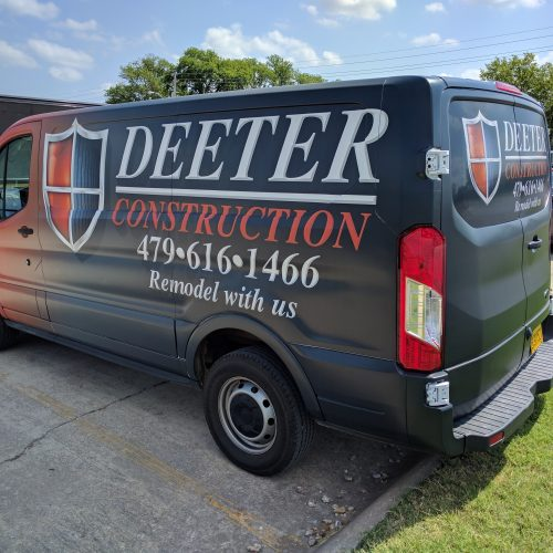 Deeter Construction Wrap