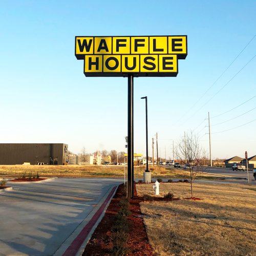 Waffle House Pylon